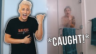 CAUGHT MY GIRLFRIEND IN THE SHOWER! *PRANK*