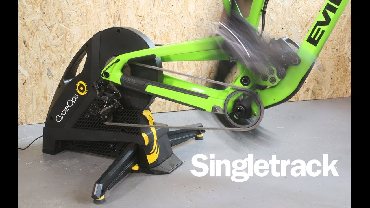 ec4d2188b21 First Look: CycleOps Hammer Trainer - YouTube