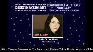 Jen Lilley at The westchester Allstars Christmas Concert 3!
