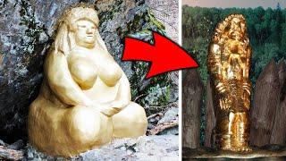 Что грозит России если найдут Золотую бабу Самые необычные находки археологов