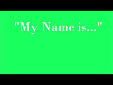 """Alp """"My Name is..."""" karaoke"""
