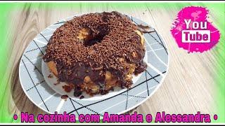 04- Na cozinha com Amanda & Alessandra- Bolo de Quatro leites Modificado