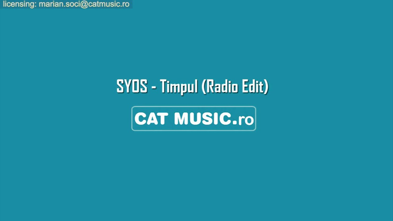 SYOS - Timpul (Official Single)
