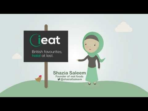 Introducing ieat foods - British favourites, halal at last.