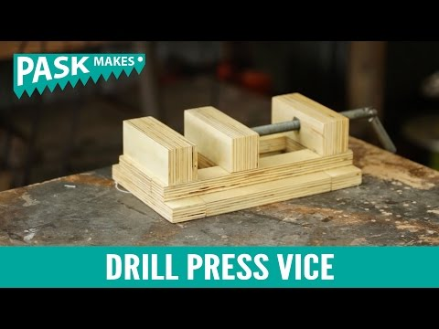 Drill Press Vice