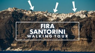 Why you need to visit Santorini: Walking in Fira (with Bonusfootage)