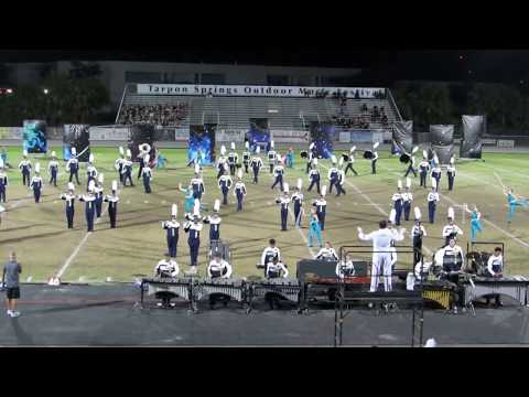 Durant HS Cougar Pride Marching Band @ 2017 Tarpon Springs Outdoor Music Festival