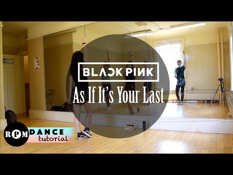 "BLACKPINK ""As If It's Your Last"" Dance Tutorial (Chorus)"