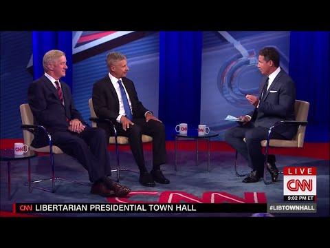 First Libertarian Town Hall - June 22 2016 on CNN