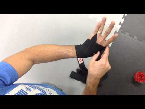 boxing hand wraps instructions