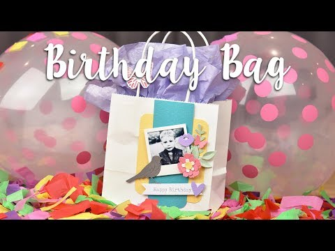 How to Make Your Own Party Bags - Sizzix Lifestyle