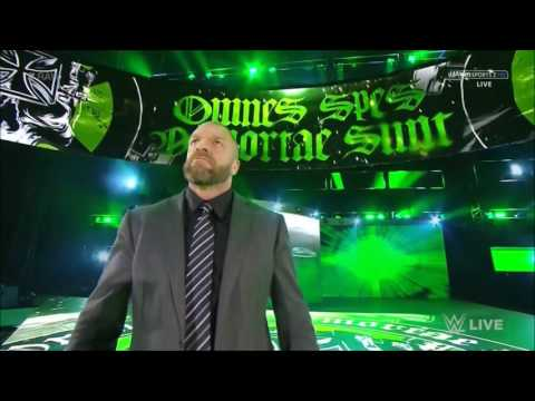 Triple H returns to Raw (30th January 2017)