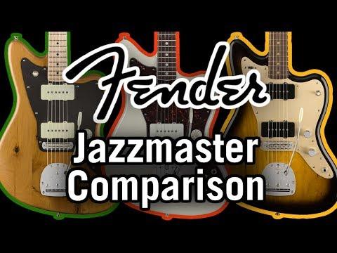 Fender Jazzmaster Comparison