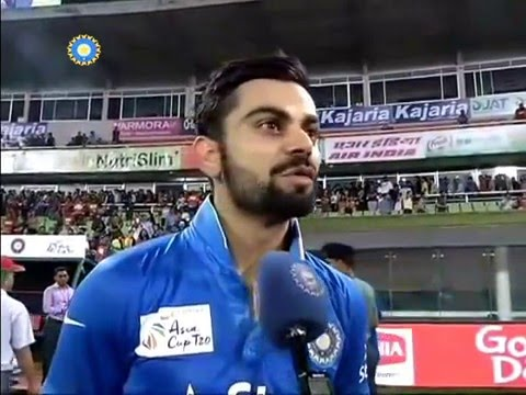 Virat Kohli Interview Asia Cup