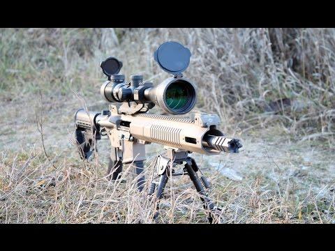 Установка и пристрелка прицела VECTOR 6-24x50