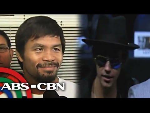 Pacquiao, may pantapat kay Justin Bieber?