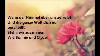 Bonnie & Clyde (lyrics) Sarah Connor & Henning Wehland