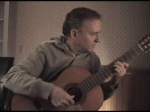 Because - the Beatles - classical guitar