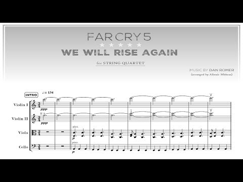 We Will Rise Again - String Quartet - FAR CRY 5