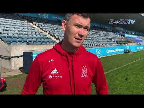 Cuala manager Willie Maher speaks to Dubs TV after Dublin Senior A Hurling Semi Final win