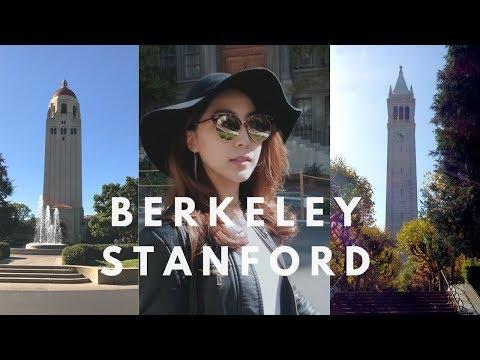 California Vlog ep3l Berkeley & Stanford University Campus Tour 버클리, 스탠포드 대학교 캠퍼스투어 캘리포니아여행
