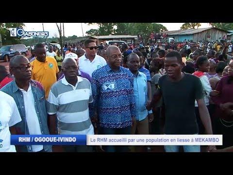 RHM / OGUOOE-IVINDO : LE RHM ACCUEILLI PAR UNE POPULATION EN LIESSE À MEKAMBO