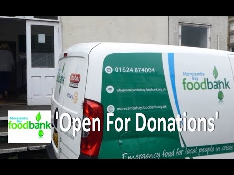 Morecambe Bay Foodbank Open For Donations Thanks To Martyn Joseph Pipe Records And Nikki Woodhead