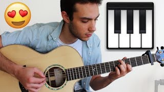4 Beautiful Piano Songs to play on Guitar (FINGERSTYLE)