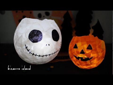 DIY Easy Halloween JACK O'Lantern Nightlight + Ruffle Tree Decor | c for craft