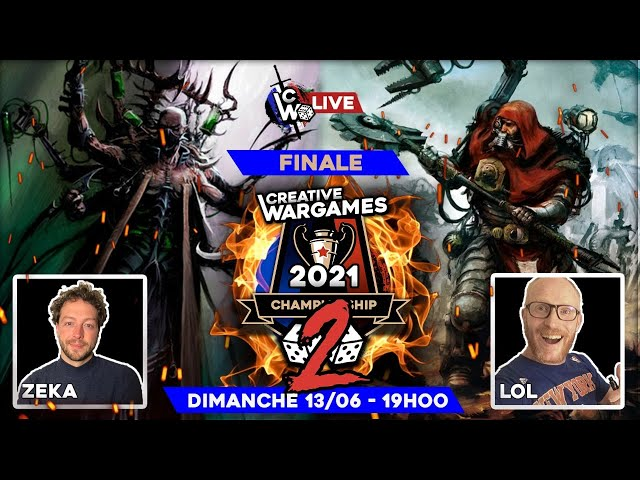 Creative Wargames Championship 2 - GRANDE FINALE - Drukhari VS Adeptus Mechanicus