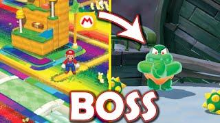 What if Mario's Rainbow World had a Boom Boom boss fight? (Super Mario 3D World mod)