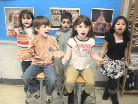 Sculpture Song for Preschool and Kindergarten