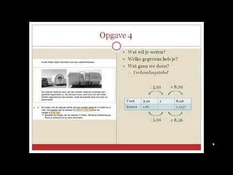 Wiskunde Examen VMBO GT 2014-II - Uitschuifcaravan