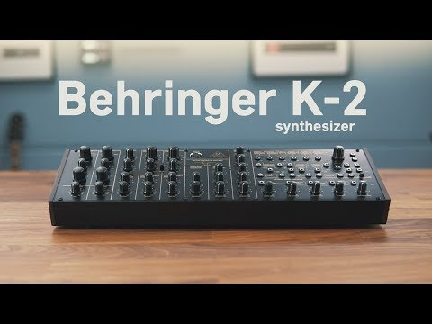 Behringer reveals all about K-2, its Korg MS-20 analogue synth clone   MusicRadar