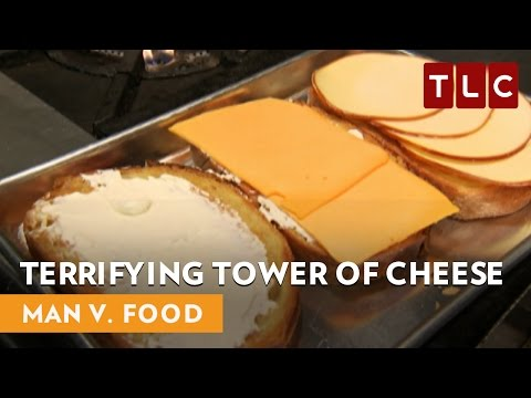 Terrifying Tower Of Cheese | Man V. Food | Can't Stop Won't Stop Weekends