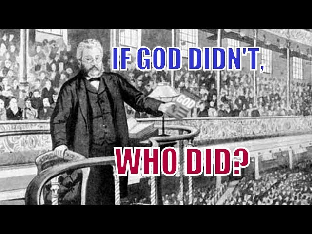 If God Didn't, Who Did?