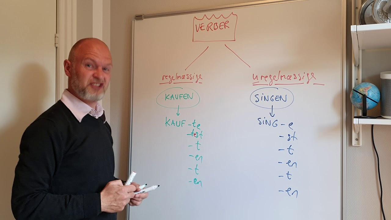 JS-TYSK (Grammatik) - VERBER (repetition og opsamling)