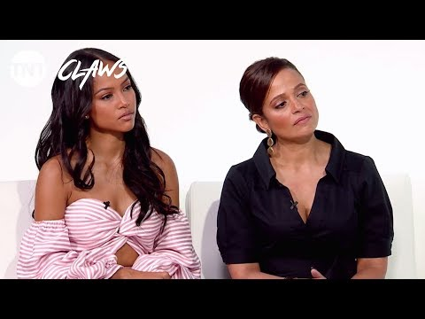 Claws: Interview with the Cast | TNT