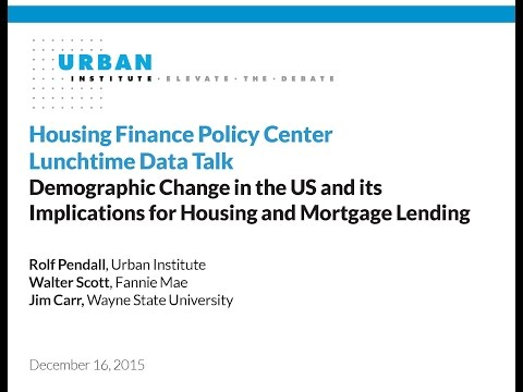 Lunchtime Data Talk: Demographic Change in the US and its Implications