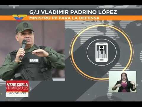 Vladimir Padrino responde a Donald Trump y amenazas de operación militar contra Venezuela