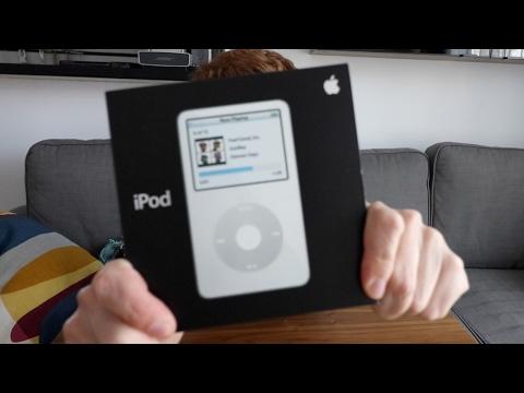 Unboxing del iPod Classic...¡en 2017!