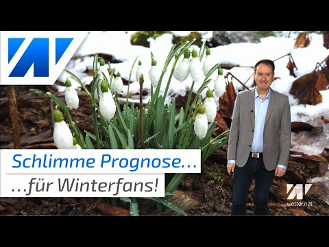 Schlimme Wettervorhersage Für Alle Winterfans!