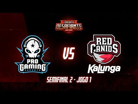 RED Canids vs ProGaming Esports vod