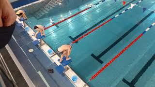Соревнования по плаванию в Электростале 29.12.2019.(3)