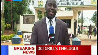 DCI Grills Chelugui: Water cabinet secretary grilled by DCI