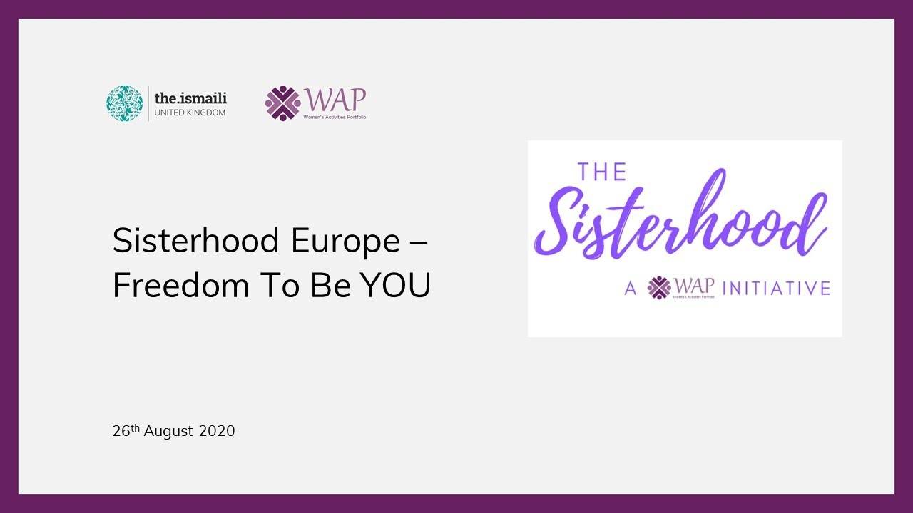 The Sisterhood: Freedom To Be YOU - WAP