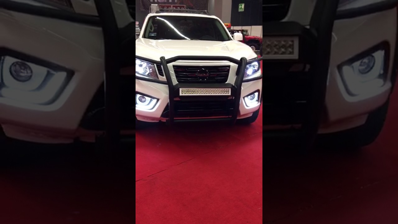 DRL o Biceles con Led`s Nissan NP300 o Frontier - YouTube
