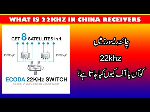 22khz Option in China Receivers
