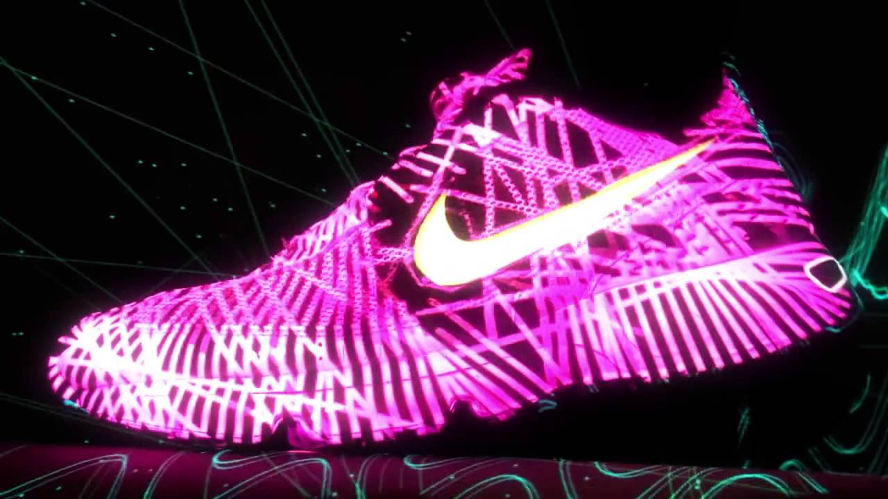 Instruir Contra la voluntad Incompetencia  NIKE VIDEO MAPPING SHOW - YouTube