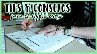 TIPS Y CONSEJOS para empezar bien el CURSO · VUELTA A CLASE | Christine Hug